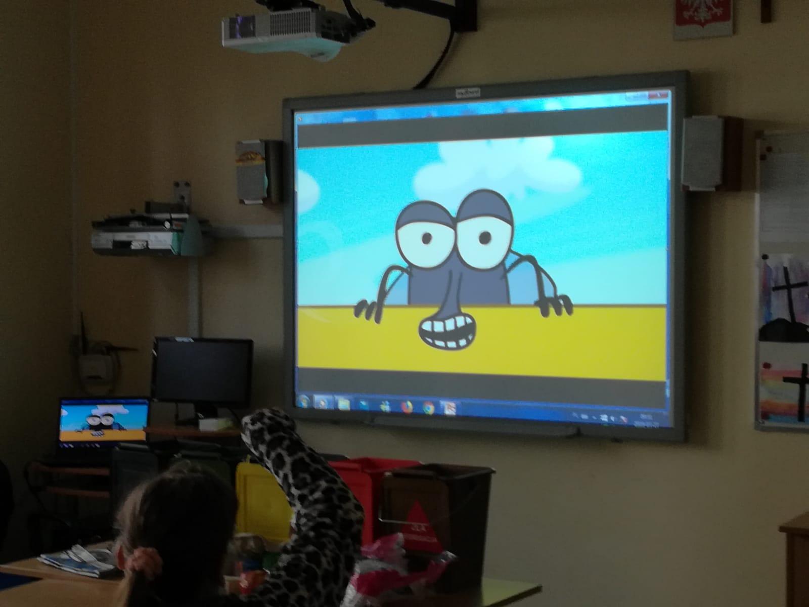 prelekcje edukacyjne w szkole podstawowej - pokaz filmu