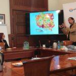 I spotkanie Lokalnej Grupy URBACT zorganizowane w ramach realizacji przez miasto Opole projekt unijnego URBACT III - Zasobne Miasta - prezentacja multimedialna